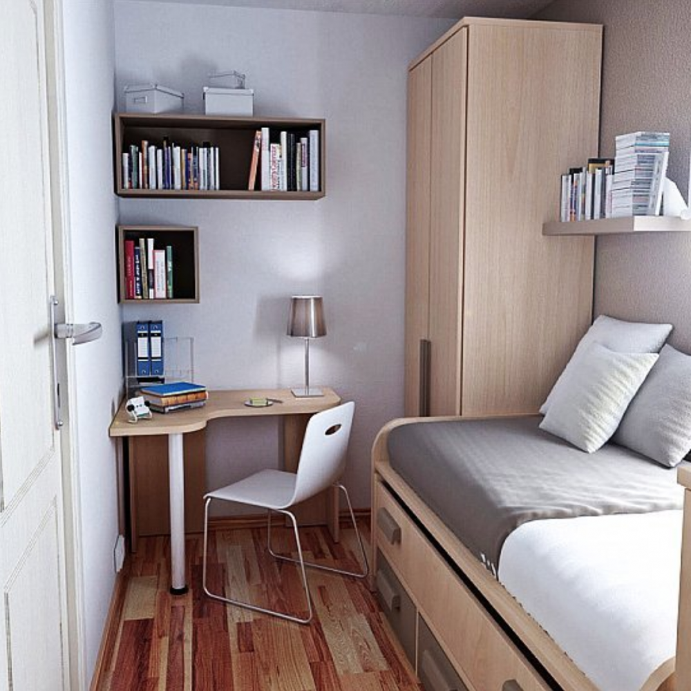 Small Bedroom Ideas : Clever Inspiration for Tiny Sleeping Spaces