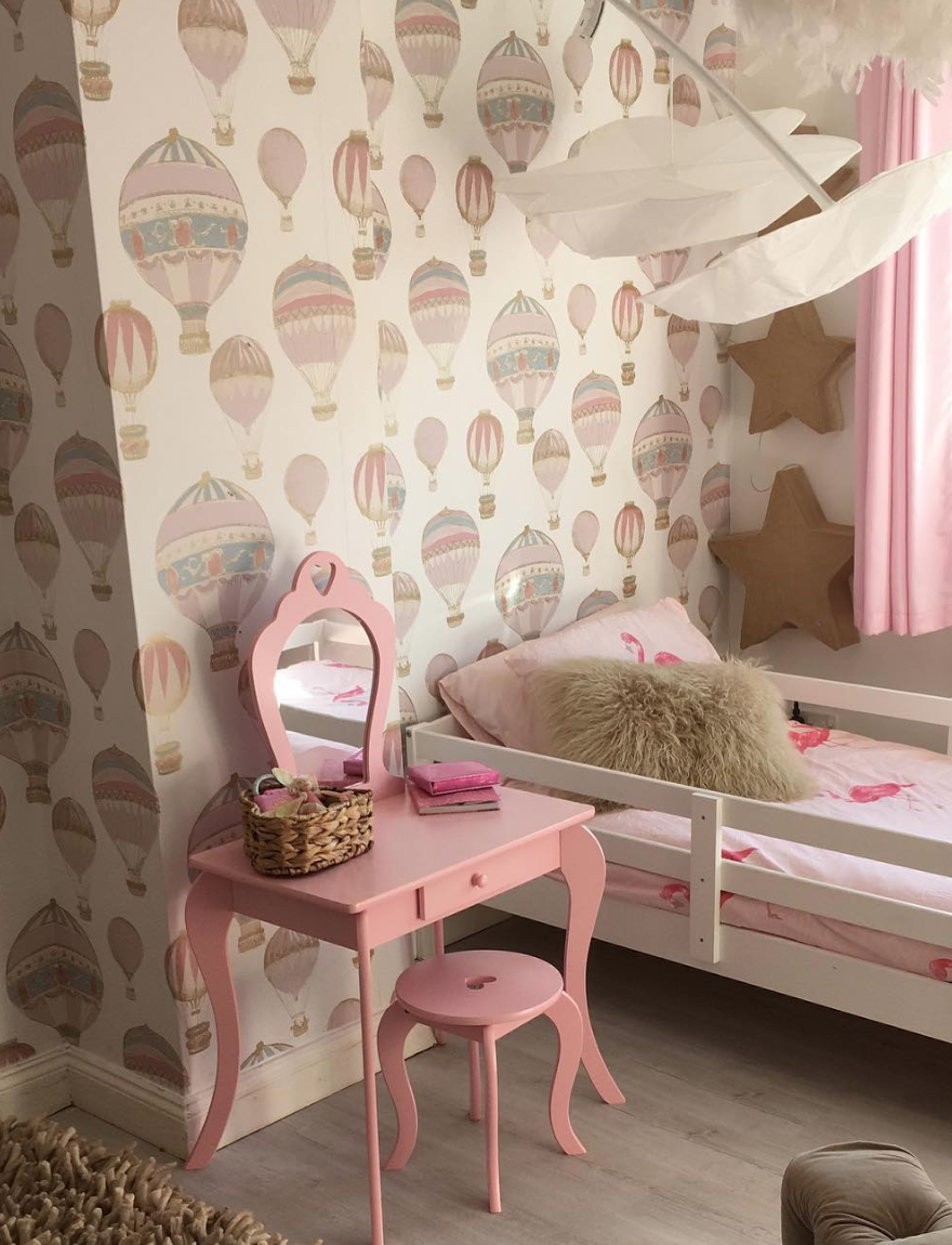 20 Adorably Cute Bedroom Ideas for Little Girls